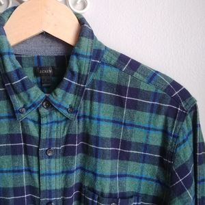 J. CREW // Flannel Buttondown